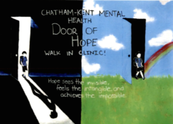 Door of Hope client poster