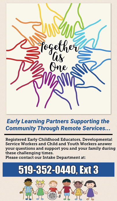 Early Learning Partners Supporting the Community Through Remote Services